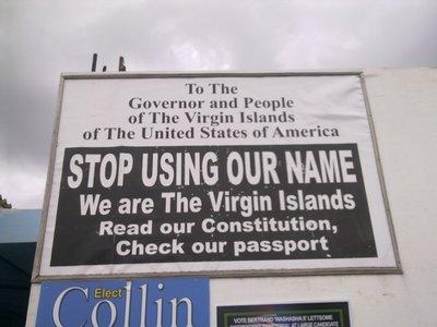 Private side step to Tortola, British Virgin Islands