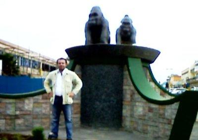 Mountain Gorilla Monument, Kigali, Rwanda