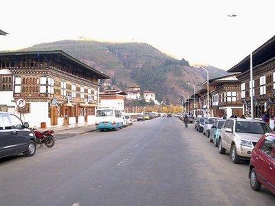 Paro city center