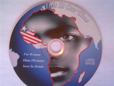 """This is our time"" - The President's favourite singer Miatta Fahnbulleh - CD distributed to guests"