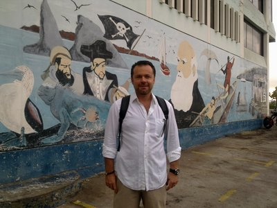 In the footsteps of pirates, whalers and Charles Darwin ...