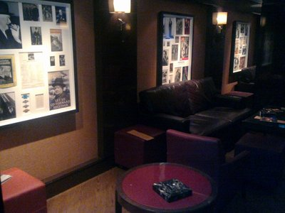 The very important Humidor Cigar Lounge
