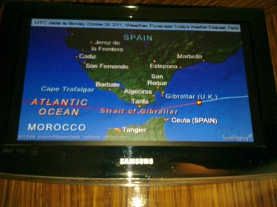Crossing the Atlantic from the Mediterranean to the Caribbean at the end of the summer