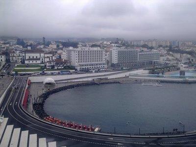 Moored at Ponta Delgada Harbour, Acores