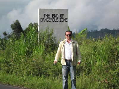 Goma, Congo, End of Dangerous Zone