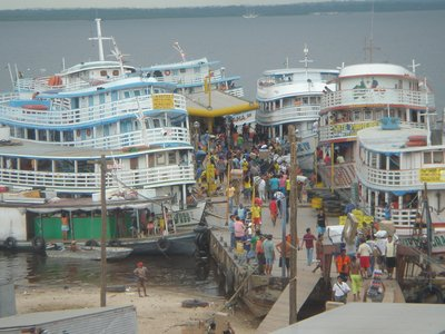 Manaus: Transport on the Amazon