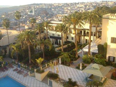 Fez - View from Sofitel Palais Jamai