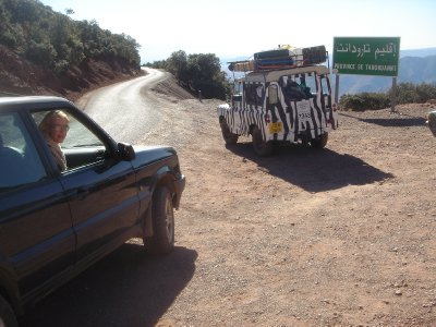 Morocco, Tizi n' Test - Terrible Mountain Pass