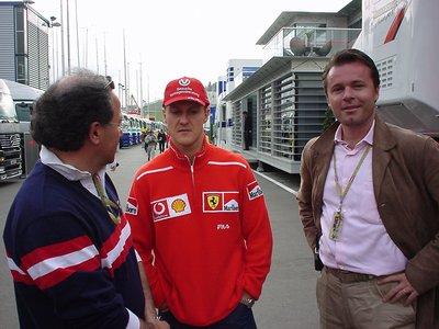 At the Grand Prix