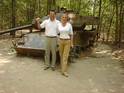 Cu Chi near Saigon, where the Americans were outsmarted by the Vietcong