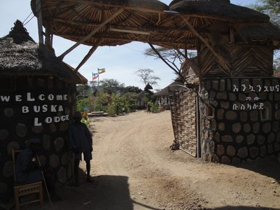 Buska Lodge*** in Turmi, the only acceptable accomodation near Omo Valley
