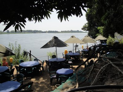 Oasis Camp at Juba's riverbank over the White Nile