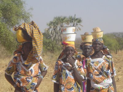 Local Ladies near Burkina - Niger border at Dori