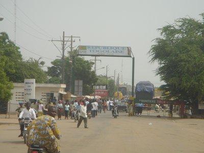 Benin - Togo Border