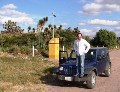 180 km/h is no problem with this rented Jeep Wrangler