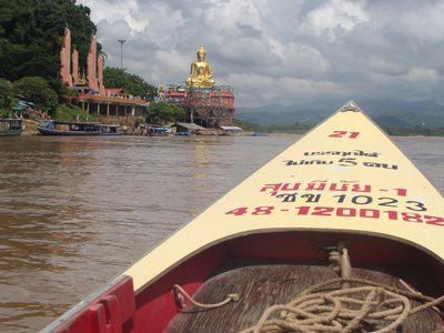 Speedboat to Laos on the Mekong River at the Golden Triangle