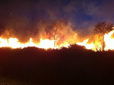 """Nightdrive through hell: """"Lord's Resistance Army"""" territory and countless bushfires"""