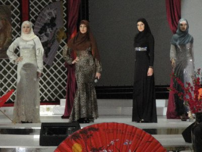 Grozny Dinner Stage with beautiful Chants and Dances