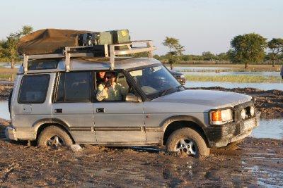 Angola - Mud Roads