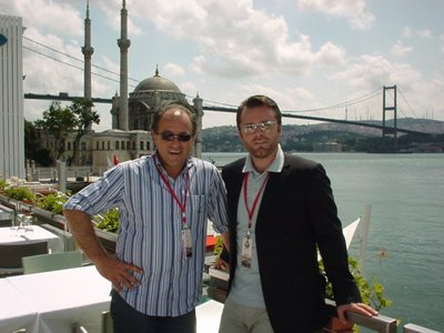 Two Drivers - finally in Istanbul