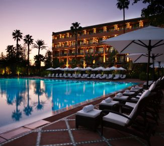 Among best hotels in the world: Hotel La Mamounia *****