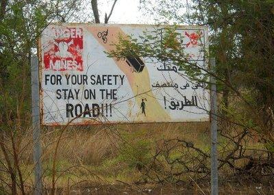 Danger: Roadside Mines