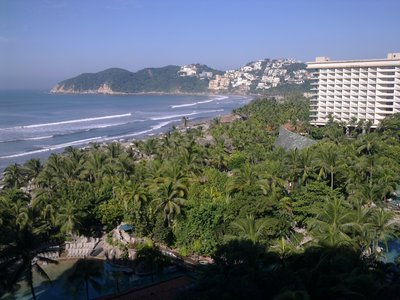 View from Fairmont Princess Acapulco