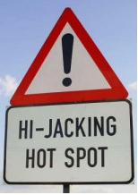 Road Sign near Johannesburg