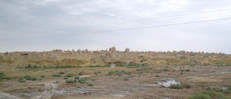 City of the Dead, Mizdakhan Necropole, near Nukus, Karakalpakastan,  Uzbekistan (former Khwarezmia)