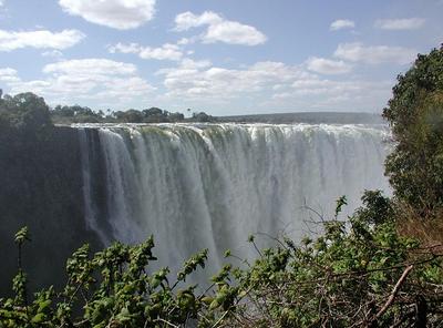 Victoria Falls, Zimbabwe (Wikipedia)