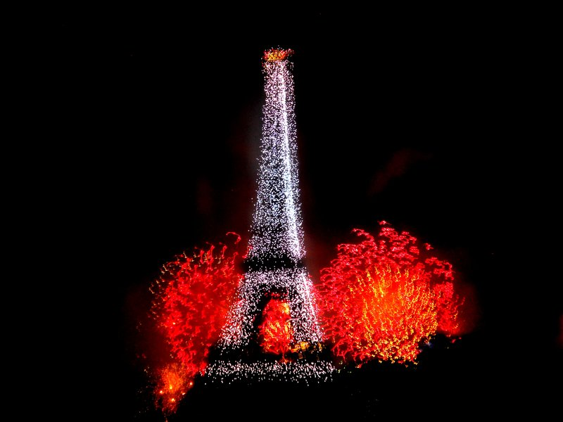 Bastille Day in Paris