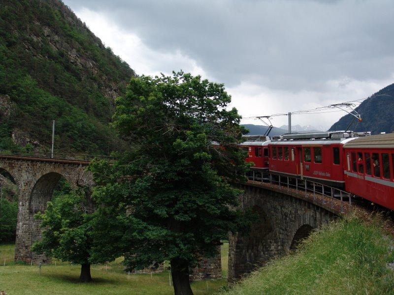 Viaduct at Brusio