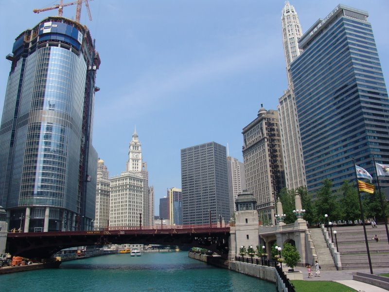 Chicago River from Vietnam Veterans Memorial