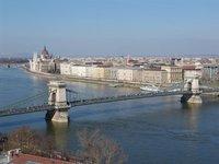 River Danube seen from Buda