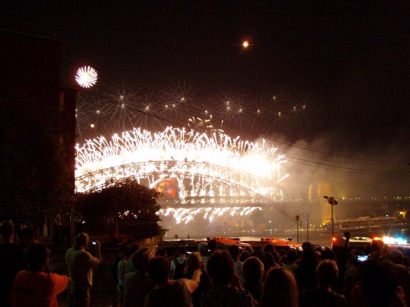 Sydney Harbour New Year Fireworks