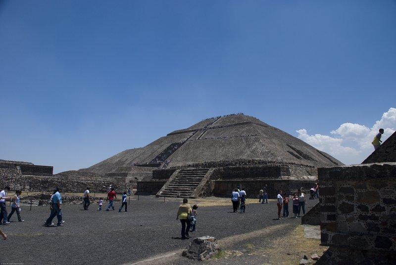 Teotihuacan Pyramids - Pyramid of the Sun