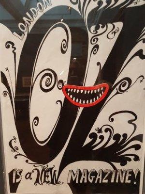 South Kensington - V&A - Martin Sharp - New Oz Magazine - about 1965