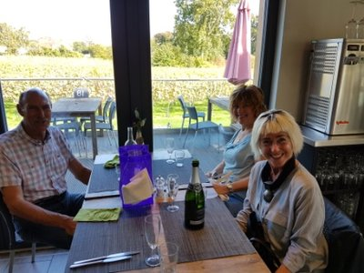 Coggeshall - Steve, Carole and Jeni at West End Winery