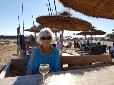 Gruissan Plage - Jeni at Le Cers cafe
