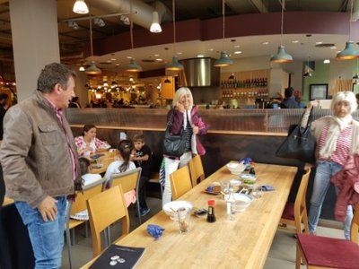 Kensington - Paul, Elaine and Jeni at Whole Foods Market