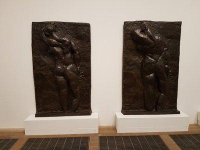 Southwark - Tate Modern - Backs by Matissa 1955