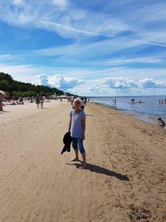Jurmala -Jeni on beach
