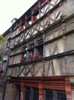 St Brieuc - 1572 house