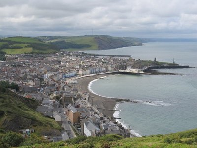 Views of Aberystwyth in Wales