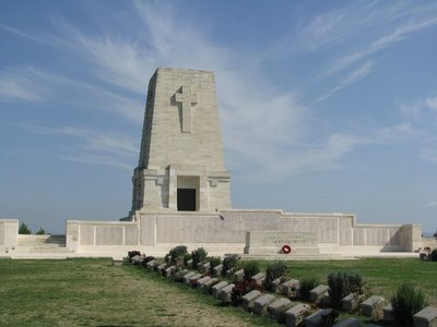 Lone Pine Cemetery on the Gallipoli Peninsula in Turkey