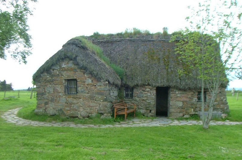 Culloden Battlefield house, Scotland