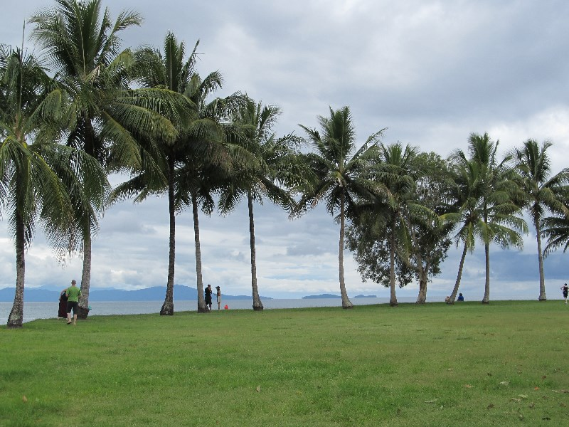 Port Douglas as a storm approches