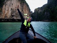 Loh Sa Mah, the beautiful bay in Thailand