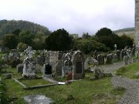 Long forgotten burial places