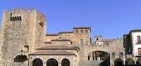 Caceres - the old city